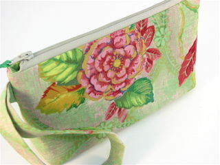Wristlet in French Garden