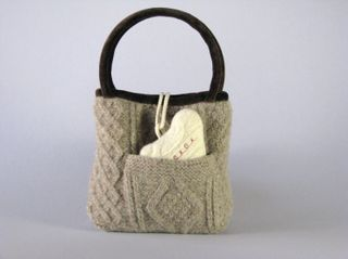 Karen Myers Sweater Bag1