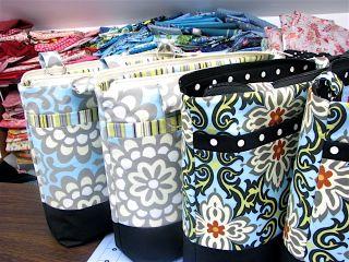Cleo Handbags in progress