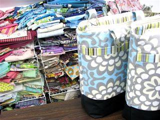Cleo Handbags and fabric stash