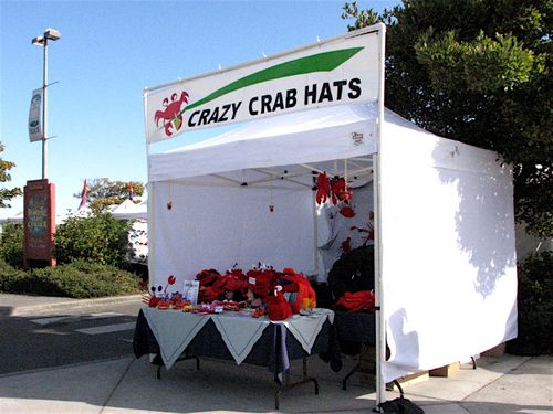 Dungeness Crab and Seafood Festival Crazy Crab Hats