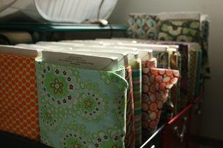Fabric in Sewing Studio