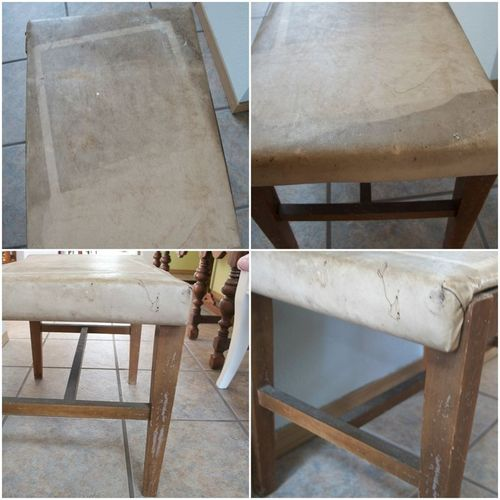 Stool Makeover Before